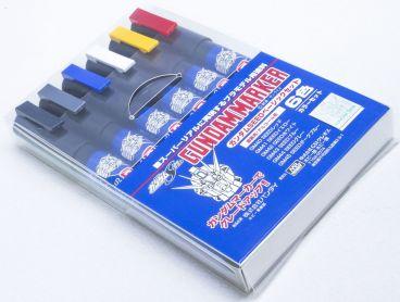 GUNDAM MARKER SEED BASIC SET (6PCS) модель