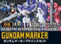 GUNDAM MARKER ADVANCED SET серия Gundam Marker