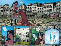 Комикс Чудо-Женщина. Книга 3. Плоть и кости. жанр Боевик, Приключения, Супергерои и Фантастика