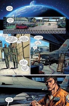 Комикс Зелёный Фонарь. Возрождение. источник Green Lantern