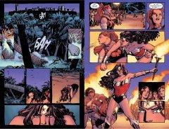 Комикс Чудо-Женщина. Книга 1. Кровь и Смерть. жанр Боевик, Боевые искусства, Приключения, Супергерои и Фантастика