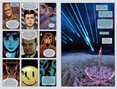 Комикс Хранители. Начало: Озимандия. Доктор Манхэттен. Ночная Сова. источник Watchmen
