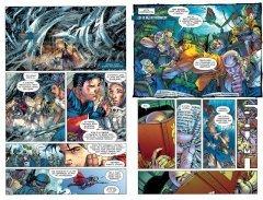 Комикс Супермен непобежденный. издатель Азбука-Аттикус