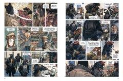 Комикс Блэксэд. Где-то среди теней. Полярная нация. Книга 1. жанр Детектив, Комедия, Нуар и Приключения