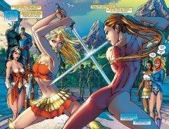 Комикс Супермен / Бэтмен. Книга 2. Супердевушка. жанр Боевик, Боевые искусства, Приключения, Супергерои и Фантастика