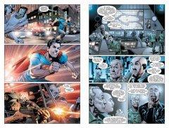 Комикс Супермен – Action Comics. Книга 1. Супермен и Люди из Стали. жанр Боевик, Приключения, Супергерои и Фантастика