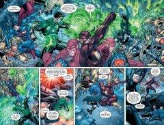 Комикс Лига Справедливости. Начало. Книга 1. жанр Боевик, Приключения, Супергерои и Фантастика