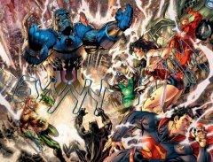 Комикс Лига Справедливости. Начало. Книга 1. источник Justice League