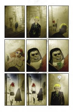 Комикс Фелл. Град Обреченных. автор Бен Темплсмит  и Уоррен Эллис