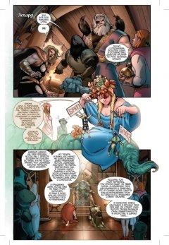 Комикс Тор. Начало источник Thor