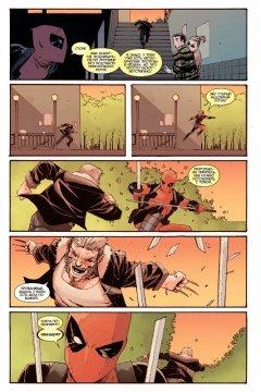 Комикс Дэдпул против Старика Логана источник Deadpool
