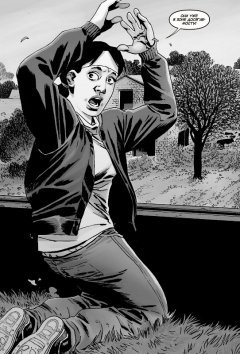 Комикс Ходячие Мертвецы.Том двадцать восьмой: Верная смерть. издатель Комильфо