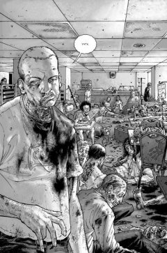 Комикс Ходячие мертвецы. Полное собрание. Том первый жанр Постапокалиптика, Приключения, Ужасы и Фантастика