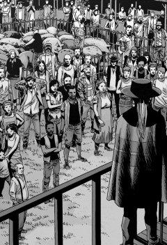 Комикс Ходячие Мертвецы. Том двадцать пятый: Ни шагу назад. источник Walking Dead