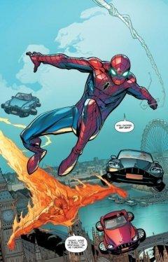 Комикс Удивительный Человек-Паук. Мировой уровень. Том 1. жанр Боевик, Боевые искусства, Приключения, Супергерои и Фантастика