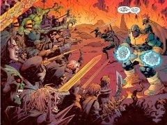 Комикс Дэдпул против Таноса автор Тим Сили