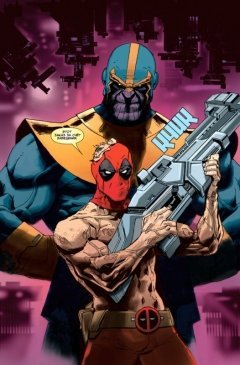 Комикс Дэдпул против Таноса источник Deadpool