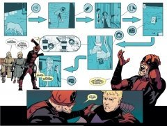 Комикс Хоукай против Дэдпула. источник Hawkeye vs Deadpool