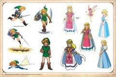 Артбук The Legend Of Zelda: Сокровища в рисунках изображение 2