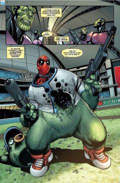 Комикс Дэдпул. Секретное вторжение. Том 1. источник Deadpool