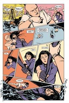 Комикс Хоукай - Соколиный глаз. Том 3. Девушка из Лос-Анджелеса. жанр Боевик, Приключения, Супергерои и Фантастика