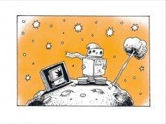 Комикс Волшебные сказки роботов издатель Комильфо
