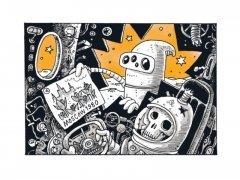 Комикс Волшебные сказки роботов изображение 1