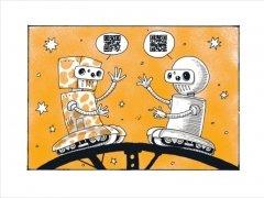 Комикс Волшебные сказки роботов изображение 2