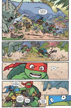 Комикс Черепашки во времени. источник Teenage Mutant Ninja Turtles