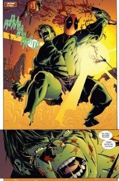 Комикс Дэдпул уничтожает вселенную Marvel. издатель Комильфо