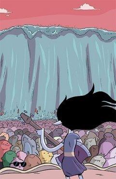 Комикс Марселин и Королевы Крика №4. Обложка В. источник Adventure Time