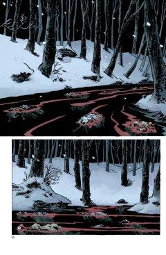 Комикс БРПД. Вампир. источник B.P.R.D.