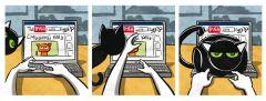 Комикс Кошки-мышки. жанр Комедия