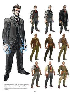 Артбук Мир Bioshock Infinite издатель Комильфо