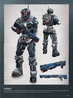 Артбук Искусство Gears of War 4 изображение 2