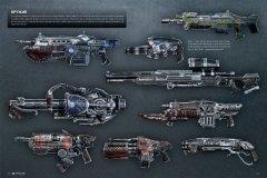 Артбук Искусство Gears of War 4 издатель Белый единорог