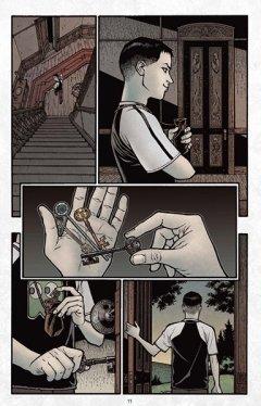 Комикс Ключи Локков. Книга 3. Корона Теней. источник Ключи Локков