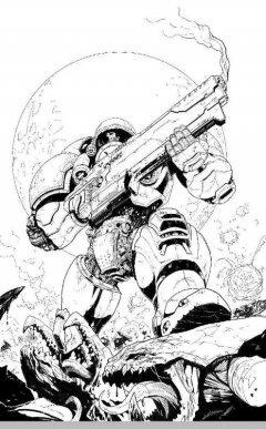 Манга StarCraft: Линия фронта. Том 1 источник StarCraft
