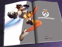 Артбук Мир игры OVERWATCH источник Overwatch