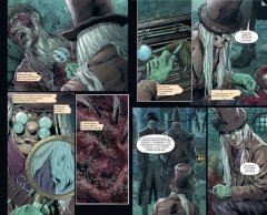 Комикс Bloodborne. Жажда исцеления источник Bloodborne