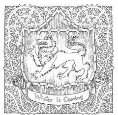 Комикс Игра престолов. Книга для творчества. источник Game of thrones