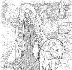 Комикс Игра престолов. Книга для творчества. автор Джордж Мартин