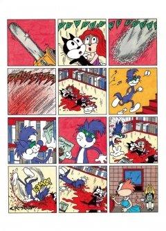 Комикс Кошки-мышки и кишки жанр Комедия, Приключения, Фэнтези и Черная комедия