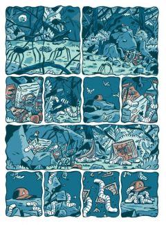 Комикс Големчик жанр Приключения и Фэнтези