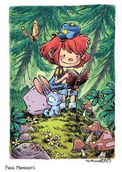 Комикс Девочка и Камень изображение 1