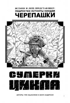 Комикс Классические Черепашки-Ниндзя: Оттенки серого. источник Teenage Mutant Ninja Turtles