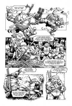 Комикс Классические Черепашки-Ниндзя: Оттенки серого. изображение 2