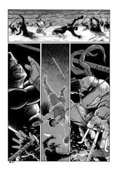 Комикс Классические Черепашки-Ниндзя: Оттенки серого. жанр Боевик, Боевые искусства, Комедия, Приключения и Фантастика