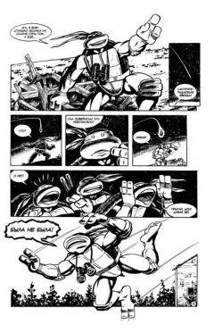 """Комикс Классические """"Черепашки Ниндзя"""" №16 издатель Illusion Studios"""