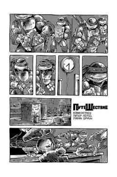 Комикс Черепаховый Суп. Книга первая. издатель Illusion Studios